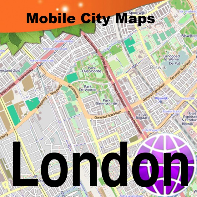 London Street Map on the App Store