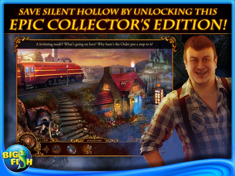 Mystery Trackers: Silent Hollow HD - A Hidden Object Detective Game (Full) screenshot-3