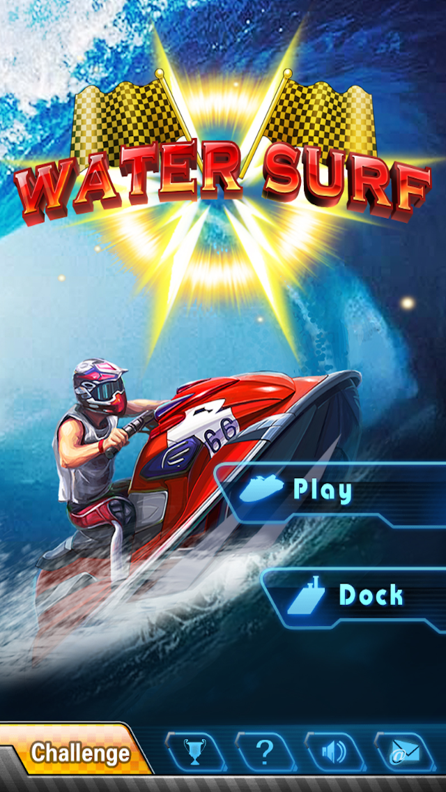 Water Surf screenshot one