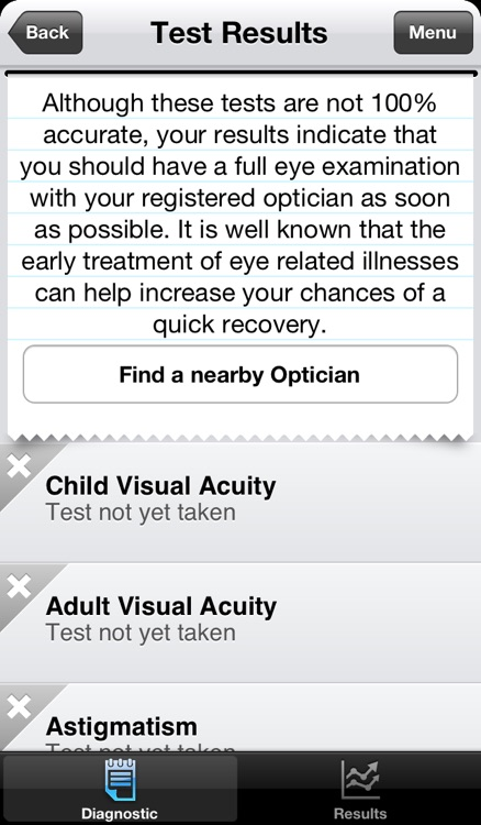Vision Test screenshot-4