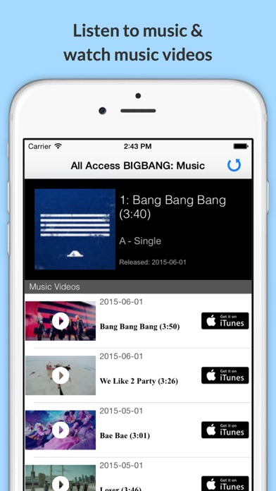 download All Access: BIGBANG Edition - Music, Videos, Social, Photos, News & More! apps 1