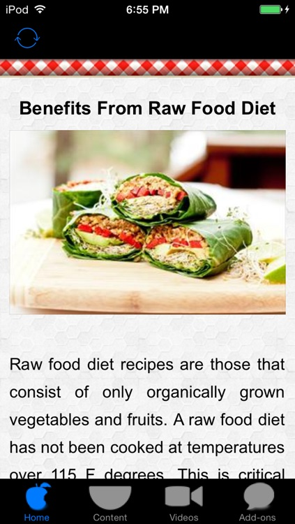 Raw Food Diet Recipes - Healthy Organic Delicious!