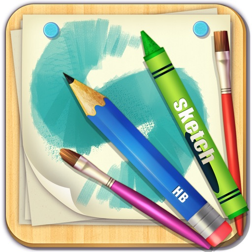 Drawing Board Pro - for paint, sketch, doodle and filter