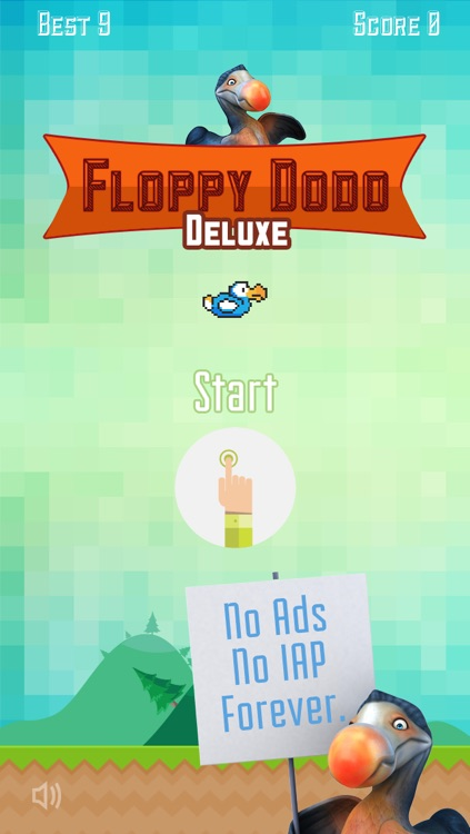 Floppy Dodo: The Flappy Flightless Bird screenshot-0