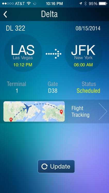 New York Kennedy Airport JFK- Flight Tracker screenshot-3