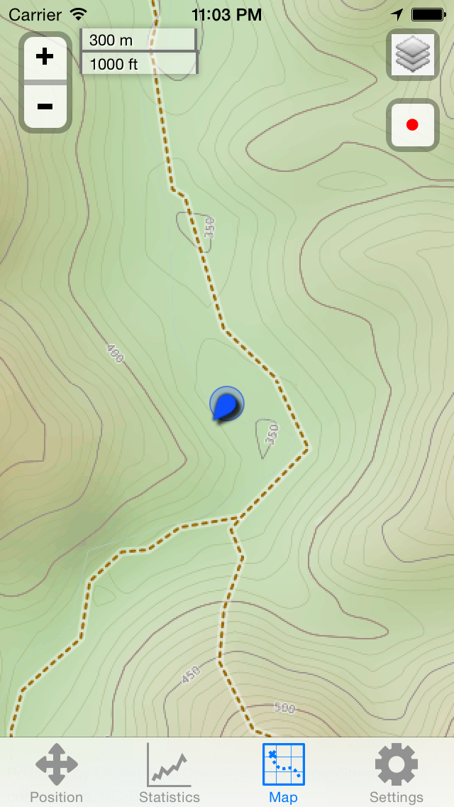 GPS screenshot two