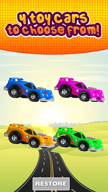 Awesome Toy Car Racing Game for kids boys and girls by Fun Kid Race Games FREE screenshot-3
