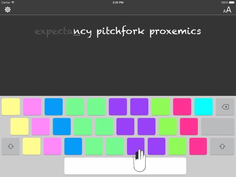 Typing Tutor for iPad screenshot-3