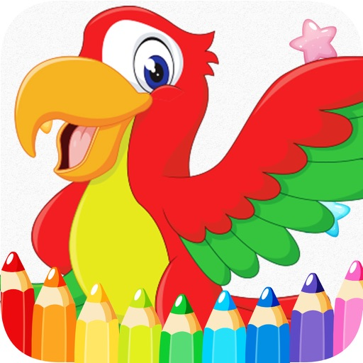 drawing & coloring art book for kid iOS App
