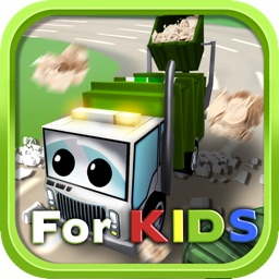 Little Garbage Car in Action - for Kids
