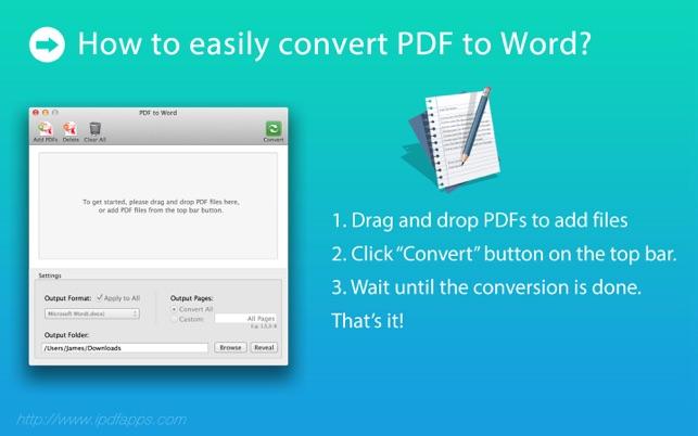 convert microsoft word document to pdf mac
