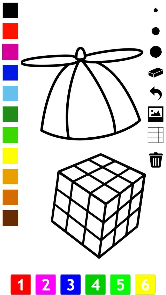 Libro para colorear de juguetes para los niños: con muchas fotos ...