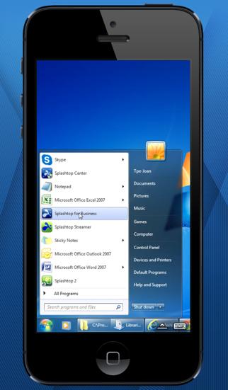 Splashtop for Good Technology ScreenShot1