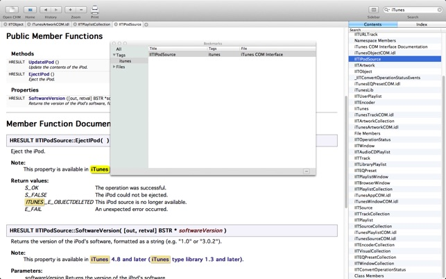 CHM Reader on the Mac App Store