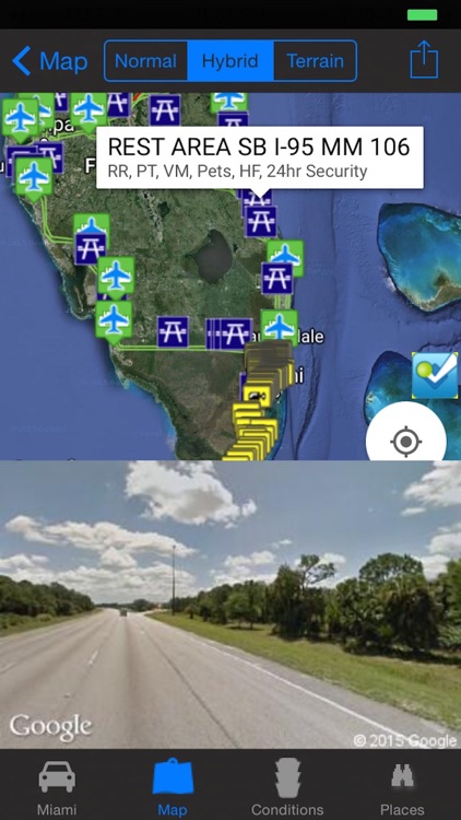 Miami Traffic Cameras Travel NOAA All-In-1 Pro screenshot-3