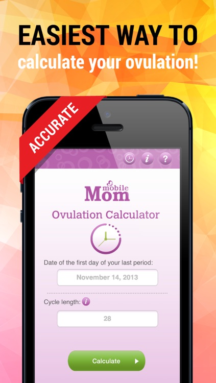 Ovulation Calculator & Fertility Tracker screenshot-0