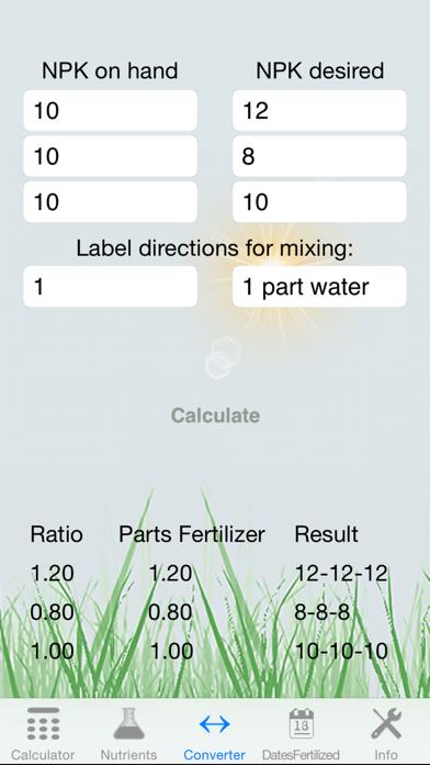 Fertilizer Calculator