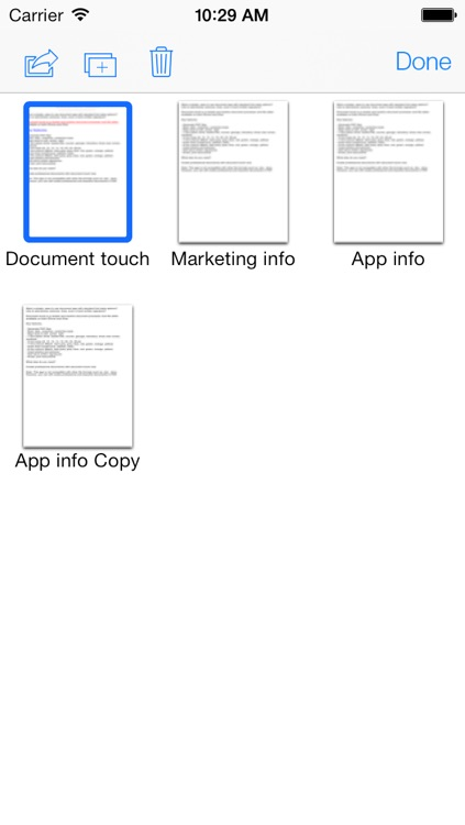 Document touch: Word processor and file editor app screenshot-4