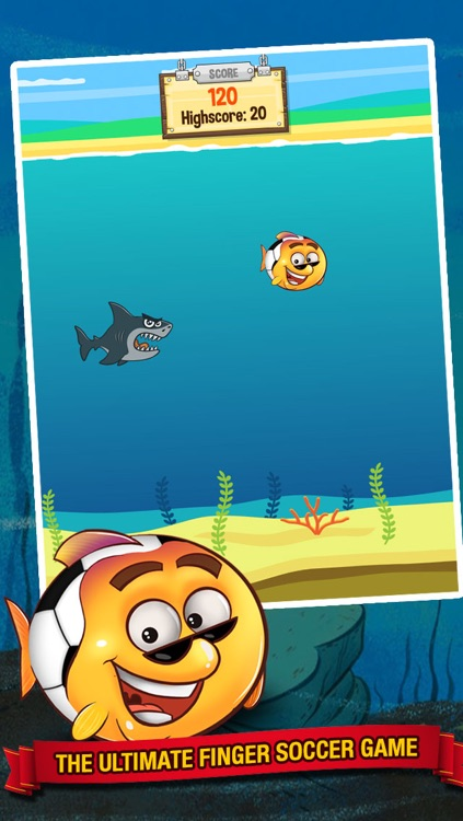Ocean Soccer - Underwater Kick Ups Finger Football screenshot-0
