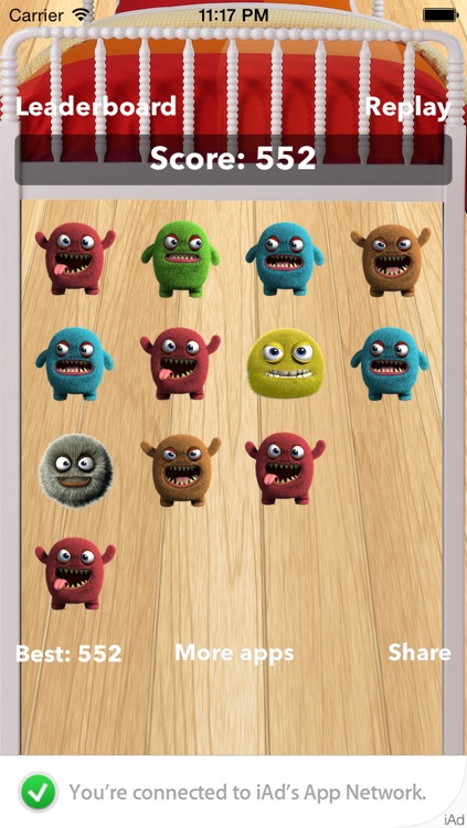 Angry Monsters Under My Bed