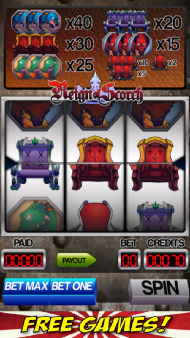 Dragons and Thrones Slot Machine-2