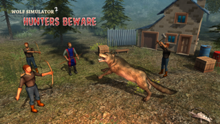 Wolf Simulator 2 : Hunters Beware