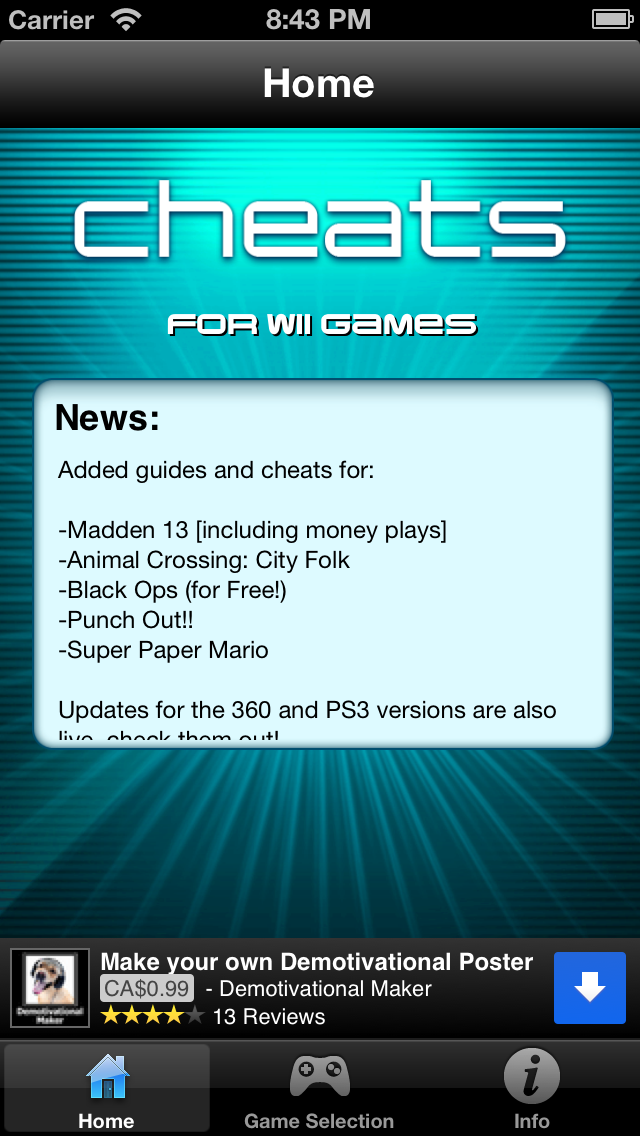 Cheats for Wii Games | App Price Drops