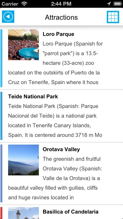 Tenerife (Canary Islands) offline map, guide, hotels. screenshot-3