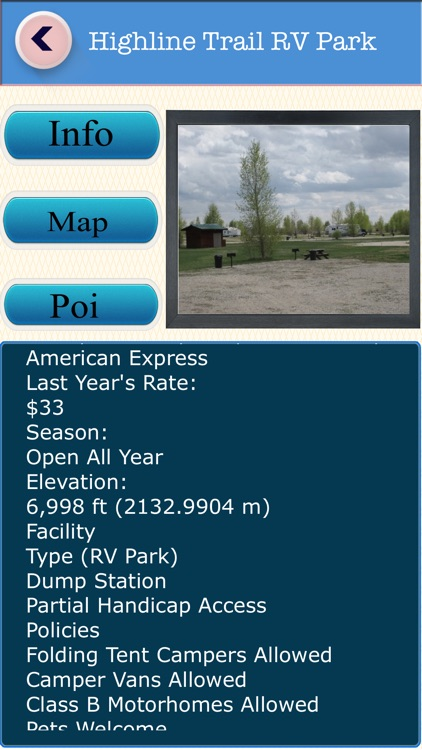 Wyoming Campgrounds & RV Parks Guide screenshot-3