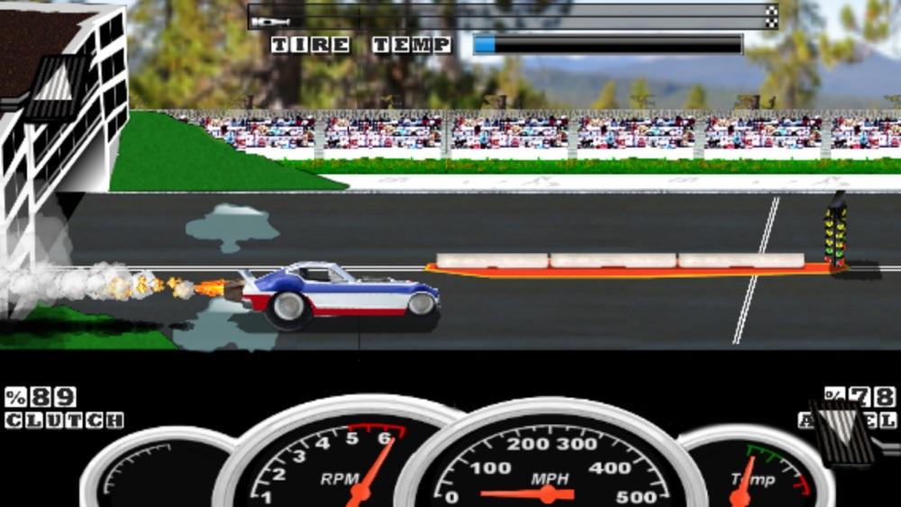 Burnout Drag Racing Cheat Codes