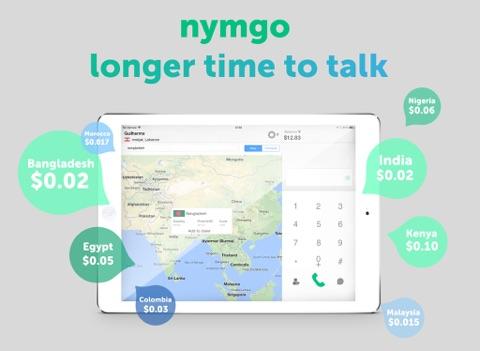 Nymgo for iPad screenshot one