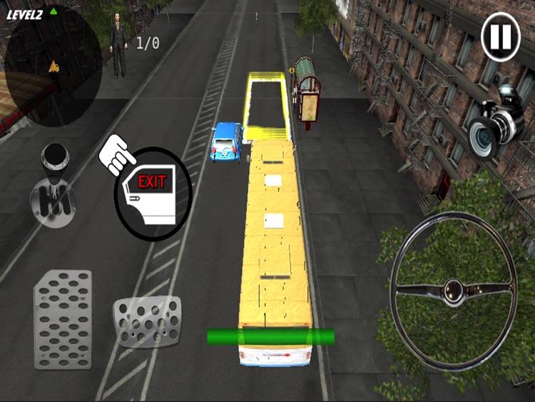 Crazy Bus Simulator 3D HD screenshot-3