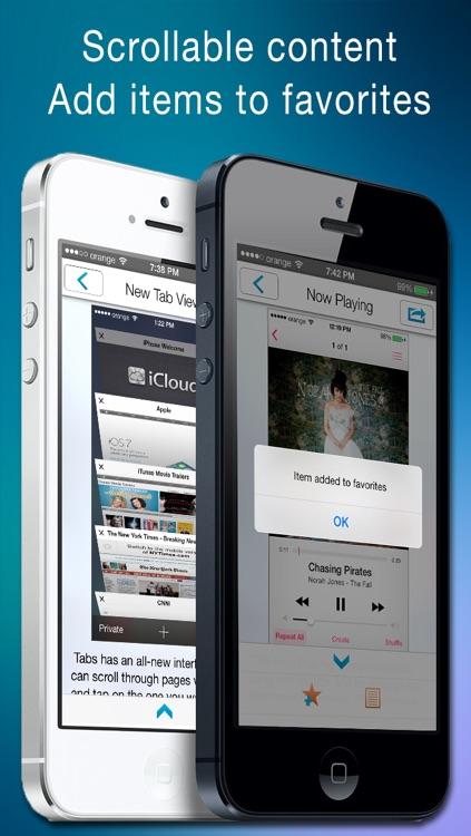 Pocket Guide for iOS 7 screenshot-3