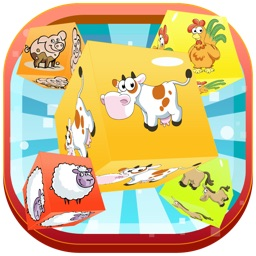 Animal Farm Crush Challenge - Fun Puzzle Match Mania FREE by Pink Panther