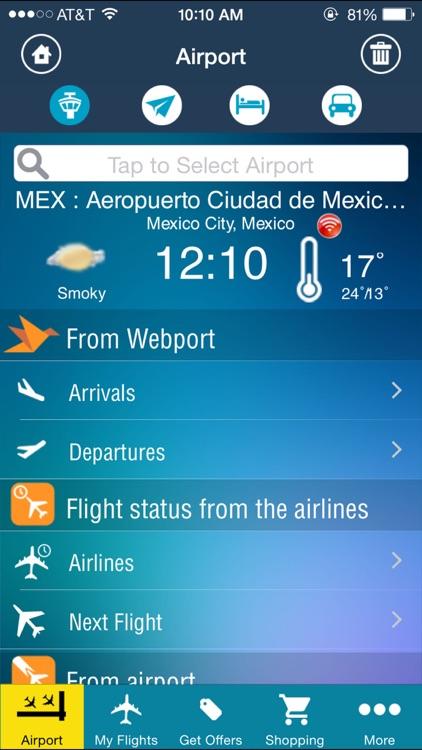 Mexico City Airport (MEX) Flight Tracker MEX