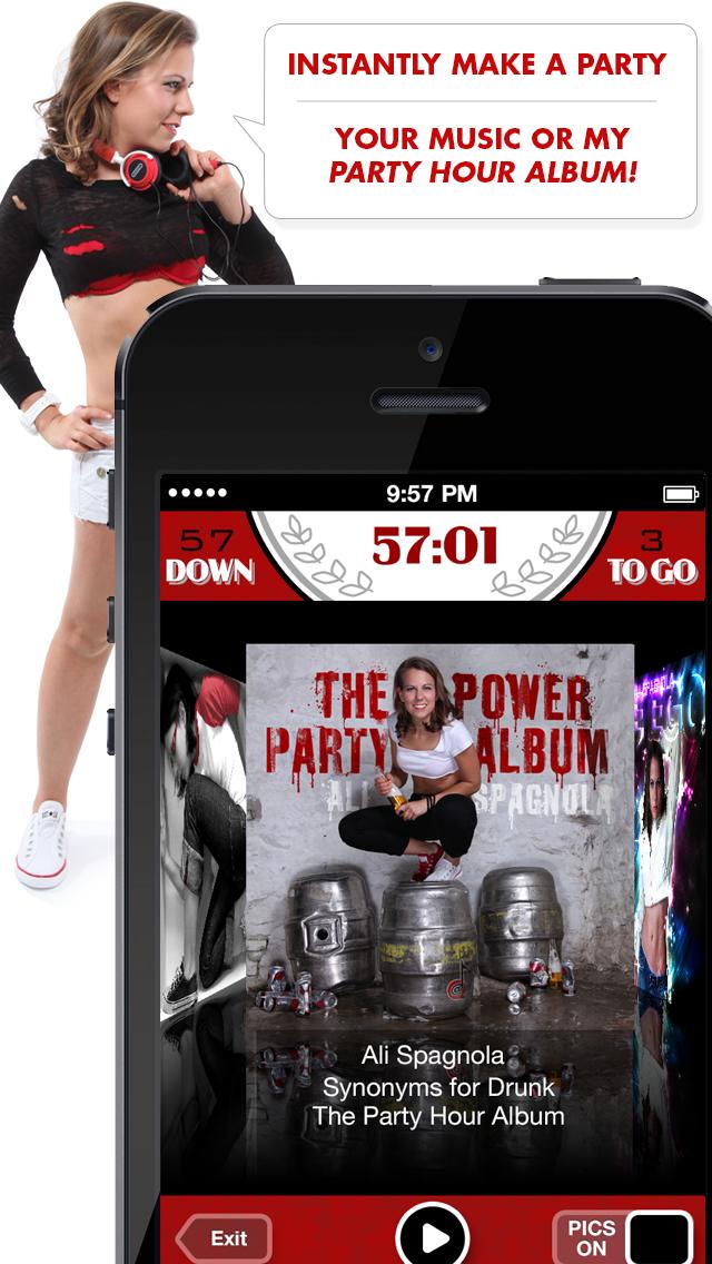 Ali's Power Album: Hour Party Playlist Maker-0