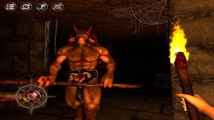 Labyrinth of the Minotaur: Escape from Darkness - original survival horror 3D dark puzzle game - Haunted Halloween Edition