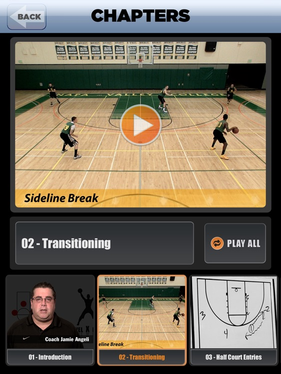 Princeton Continuity Offense: Using Backdoor Plays - With Coach Jamie Angeli - Full Court Basketball Training Instruction - XL screenshot-4