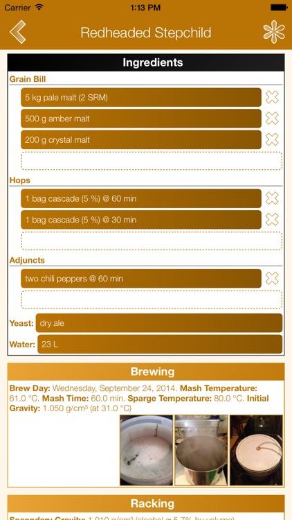 Beer Lab Notebook screenshot-3