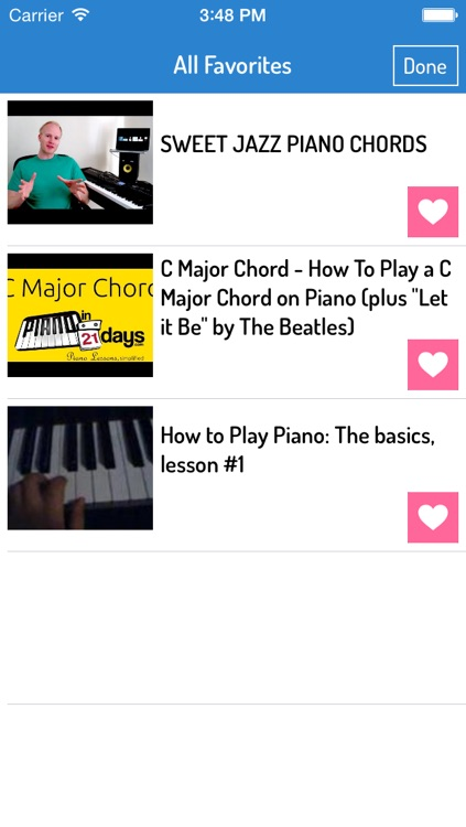 Learn to play the piano ipad app