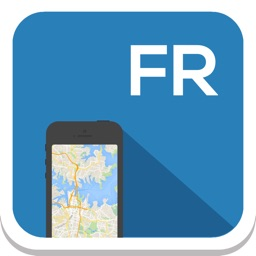France offline map, guide, weather, hotels. Free navigation.