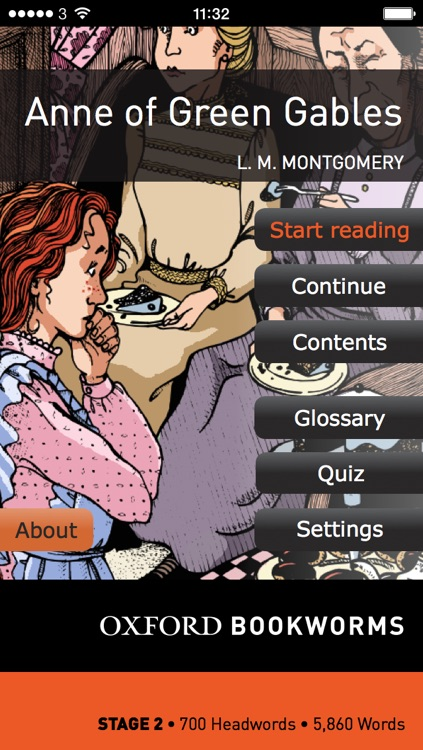 Anne of Green Gables: Oxford Bookworms Stage 2 Reader (for iPhone)