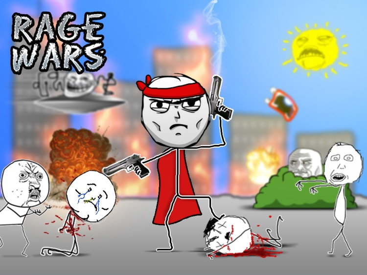 Rage Wars HD - Meme Shooter screenshot-0