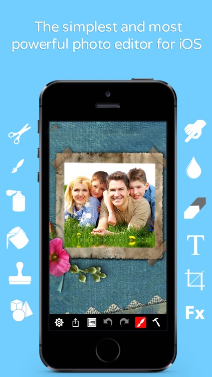 Photo Editor Pro by Digital Ruby - Create eCards, Flyers, Posters, 3D Text, Borders and More! screenshot-0