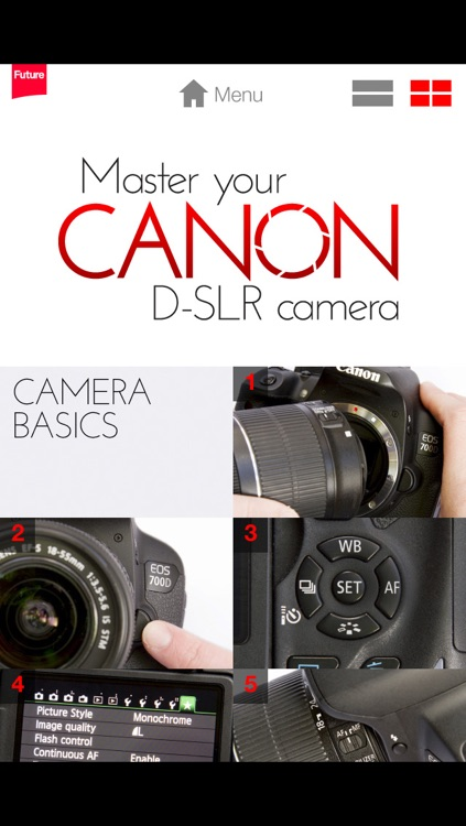 Master your Canon D-SLR camera – a beginner's video guide screenshot-1