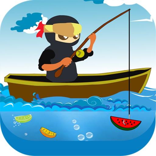 глубокая вода фрукты рыбалка ниндзя