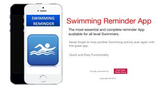水泳リマインダーアプリ - 時刻表活動スケジュールリマインダー、スポーツのおすすめ画像1