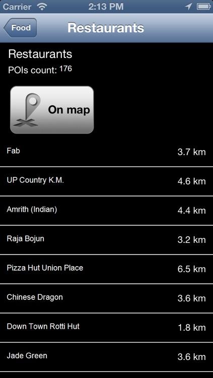 Sri Lanka Offline Map - PLACE STARS screenshot-3