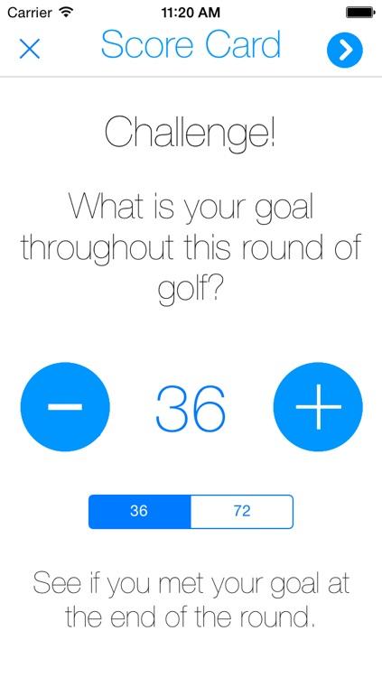 Score Card: Digitalize Your Golf Score screenshot-3