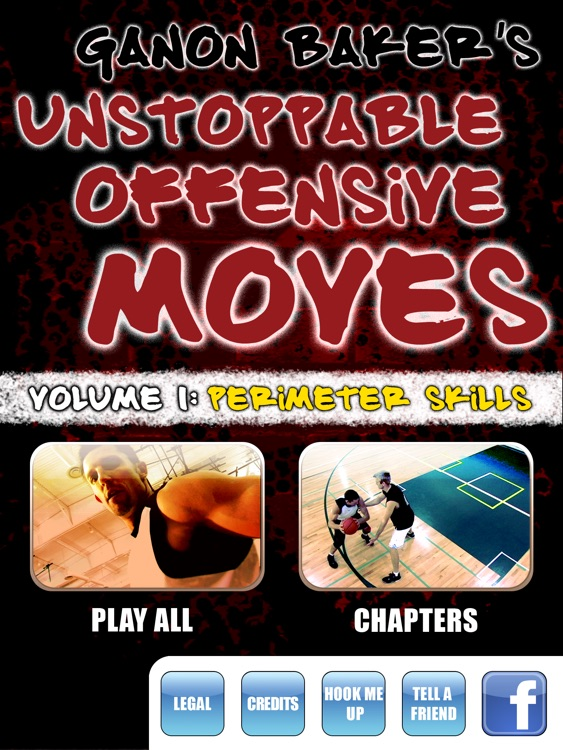 Unstoppable Offensive Moves: Volume 1 - Wing & Perimeter Scoring Skills - With Ganon Baker - Full Court Basketball Training Instruction - XL screenshot-0